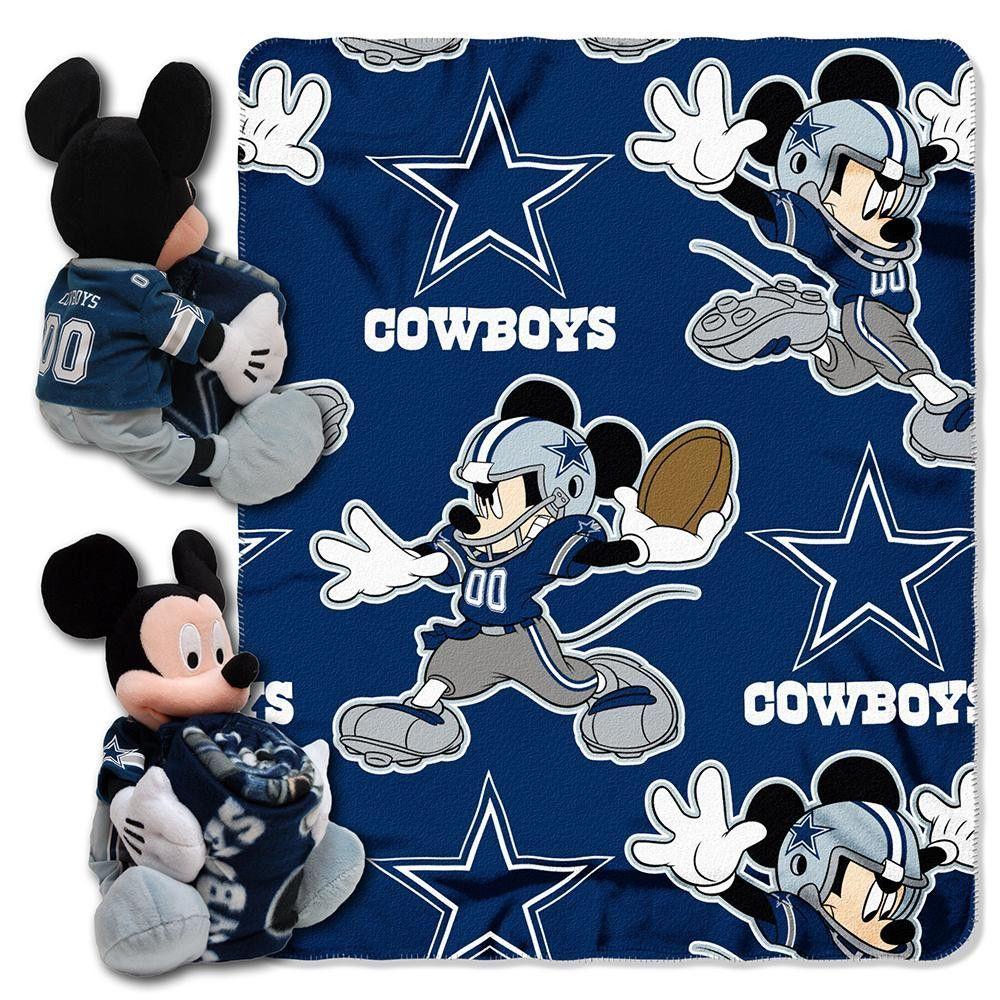 The Northwest Company Disney Dallas Cowboys Disney Mickey Mouse Full Sheet Set