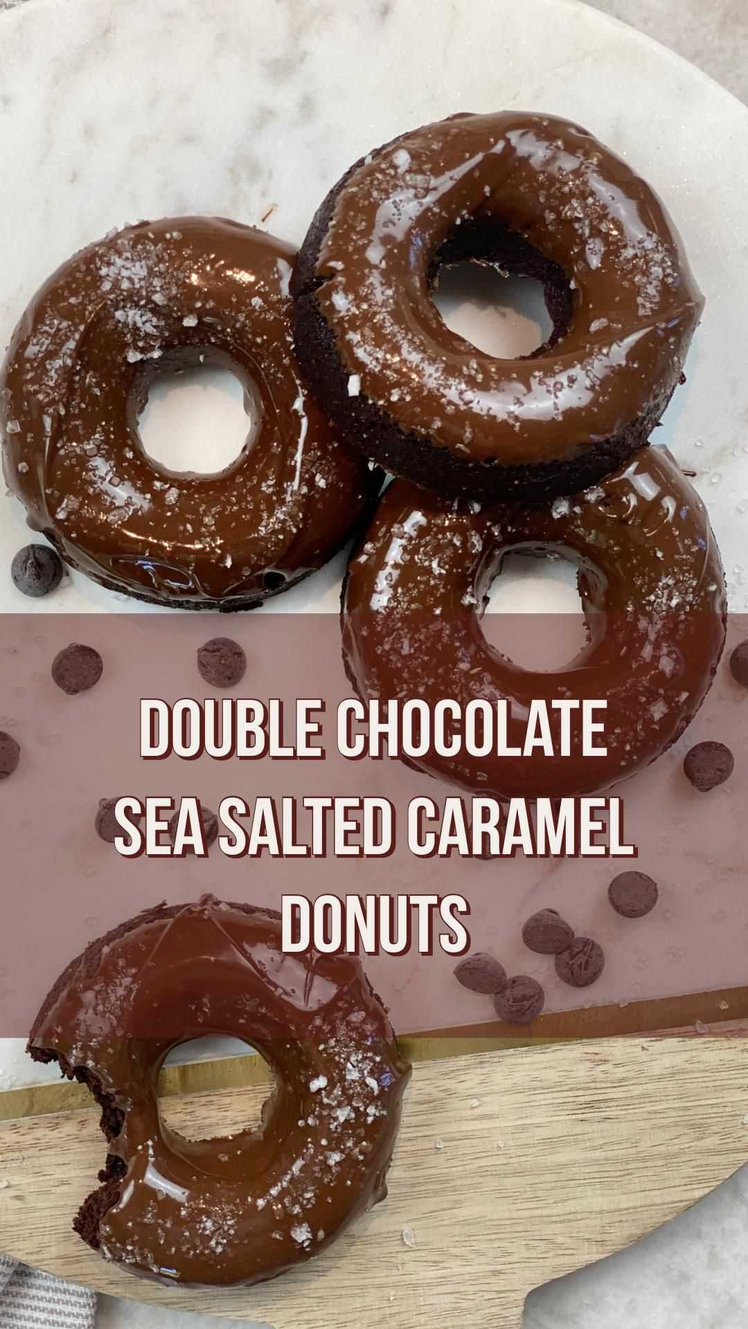 DONUT miss out on these #homemade junk-free better-for-you #organic and lower sugar #donuts using our #Foodstirs Organic Double Chocolate Sea Salted Brownie Mix! Bake Time: 0 hours 30 minutes Bake at 350F degrees for 20 minutes Ingredients: Foodstirs Organic Double Chocolate Sea Salted Brownie Mix 2 eggs 2 tbsp. of hot water 1/3 cup of vegetable oil Sea salt packet (comes in the box)