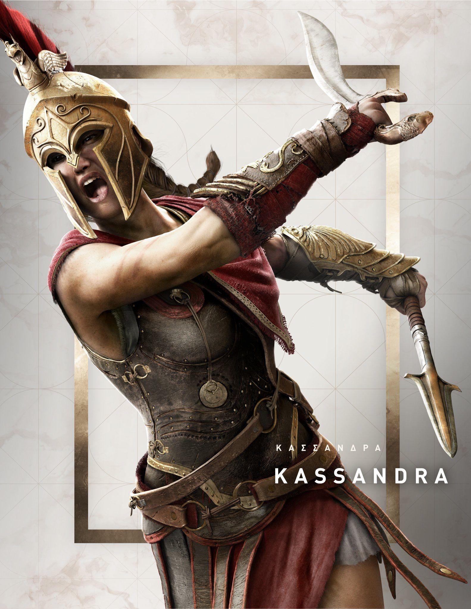 Kassandra Assassins Creed Art Assassins Creed Assassins Creed Odyssey