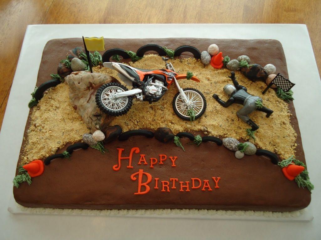 Motocross Wrecked Cake Motocross Cake Dirt Bike Cakes Bike Cakes