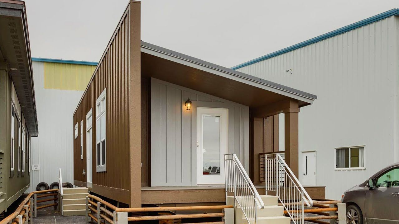 Incredibly Beautiful Look Out Lodge Sg55 Manufactured Home
