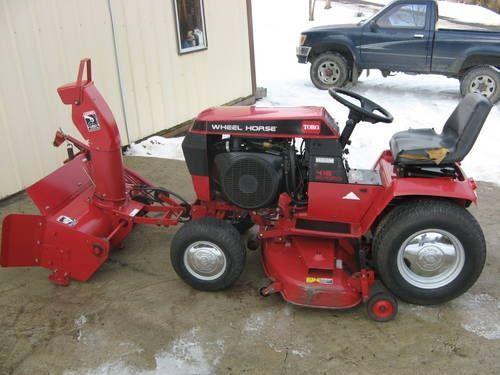 Wheel Horse Snow Blowers : Wheel horse snow blower attachment garden