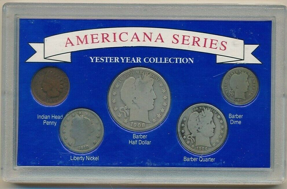 Vintage Coin Collection 3-coin set