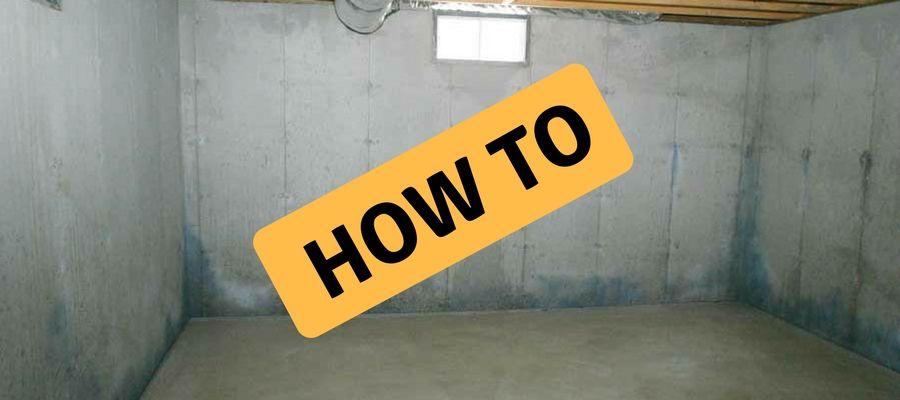 How To Stucco Basement Walls Basement Walls Concrete Basement Walls Stucco Interior Walls