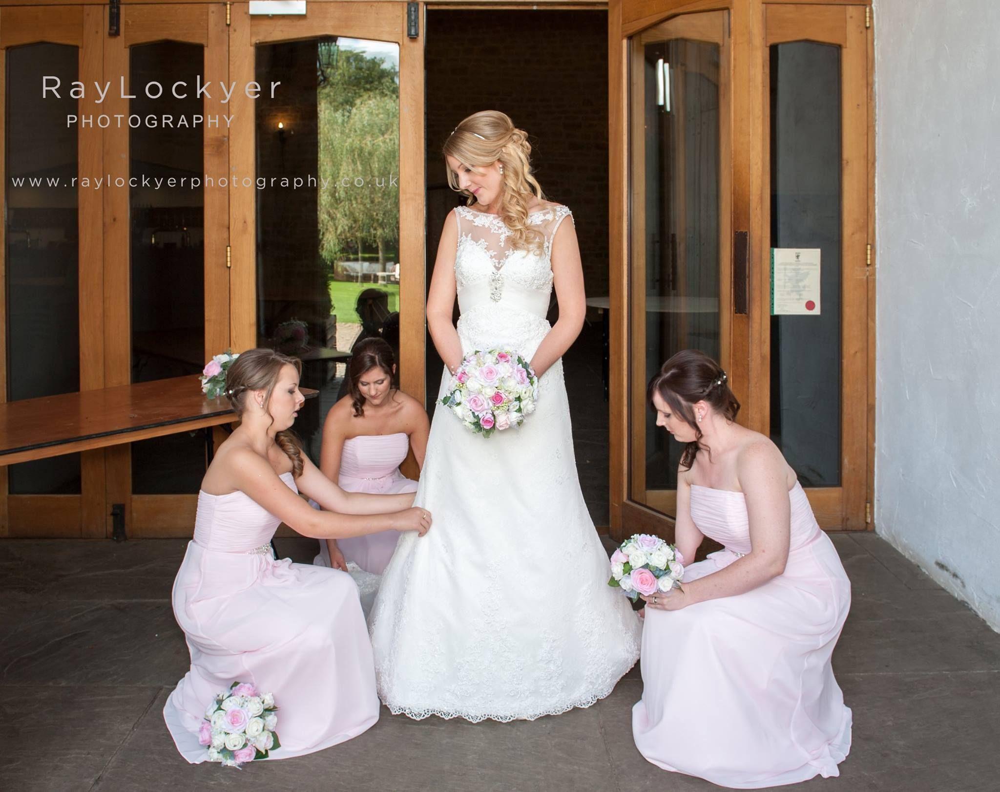 Ray Lockyer Yeovil Wedding Photographer - Final prep for our bride ...
