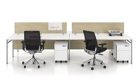 Take Off Benching Office Desks Storage With Electronic