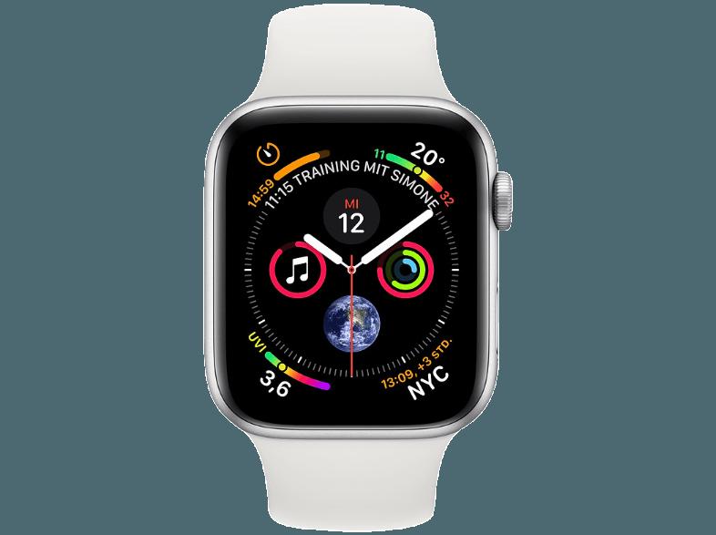 Mediamarkt Smartphone Apple Watch Series 4 Gps Cellular 44mm Smartwatch Aluminium Kunststoff 140210 Apfeluhr Apple Watch Kaufen Smartwatch