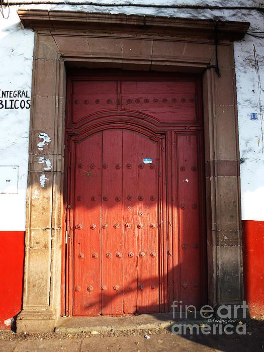 Mexican Door 63, Mexico, Mexican art, Mexican architecture, Mexico city, Mexican culture, mesoamerica, antique, building, colonial, church, door, door decor, door way, entryway, Hispanic, historic, painted door, residential, Spanish, wood, wood art, fine art, original art, ©Xueling Zou, $6.00, for sale,