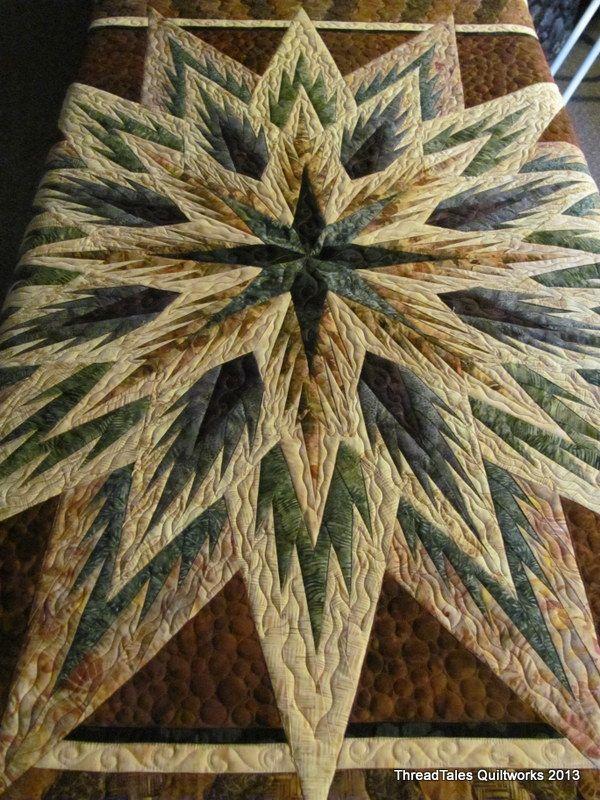 Cantidad de quilts preciosos.