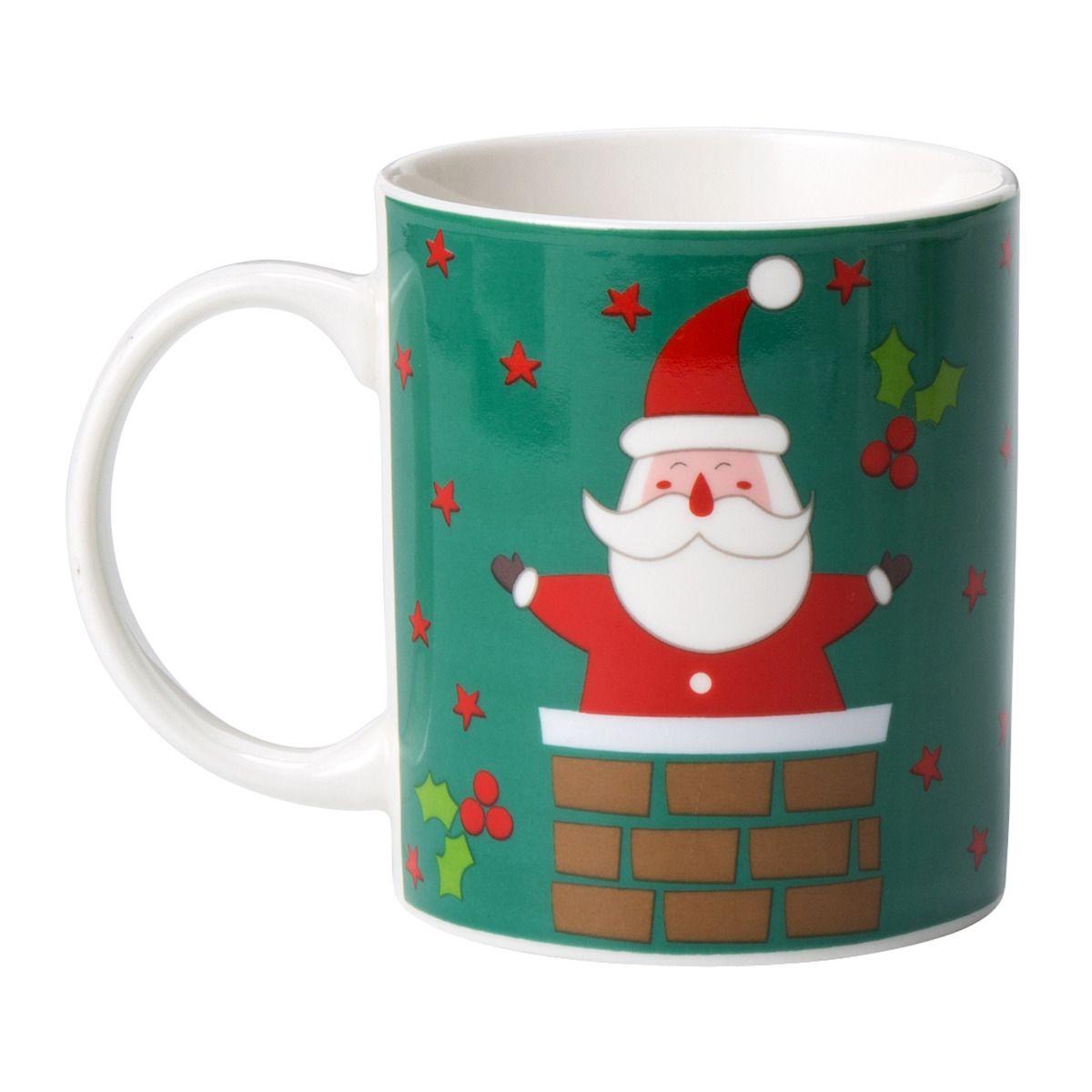 Mug Pap Noel Navidad Por El Corte Ingl S Para La Mesa En