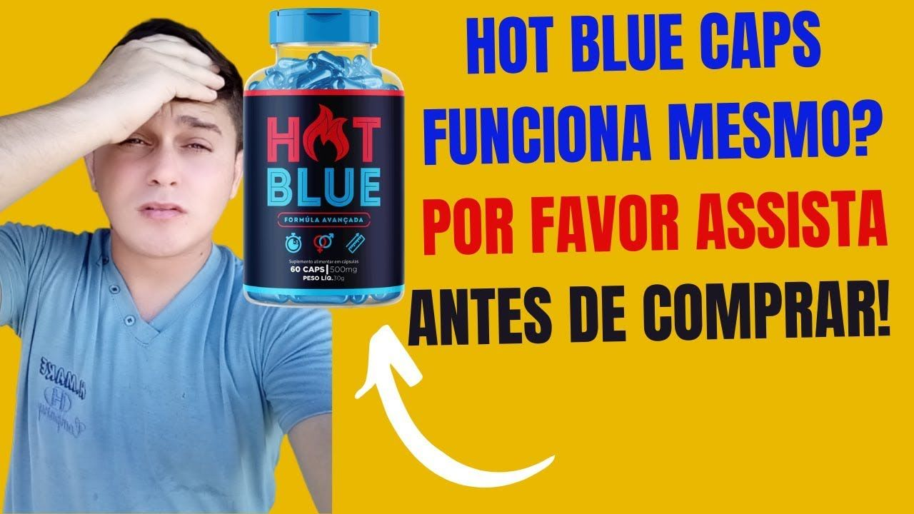 hot blue caps comprar