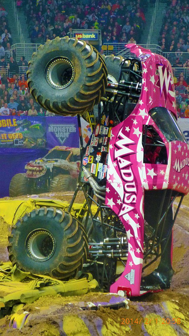Pink Monster Madness Big Monster Trucks Monster Trucks Monster Truck Madness