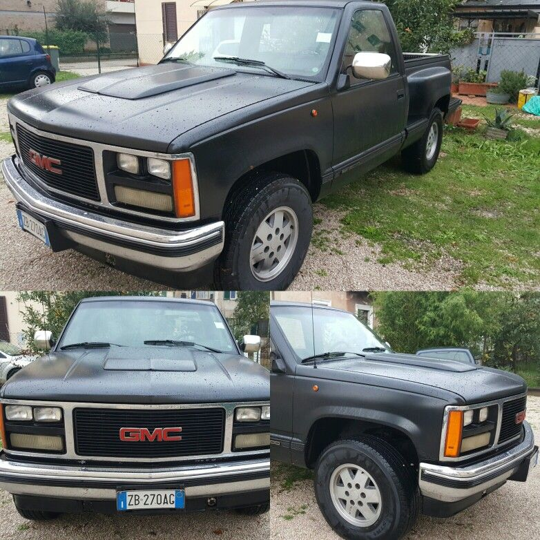 This is my new car... OLD STYLE 1989 GMC Do you like?