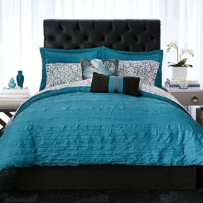 teal and grey bedding - Google Search