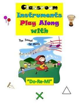 Rhythm: Classroom Instruments Play Along with