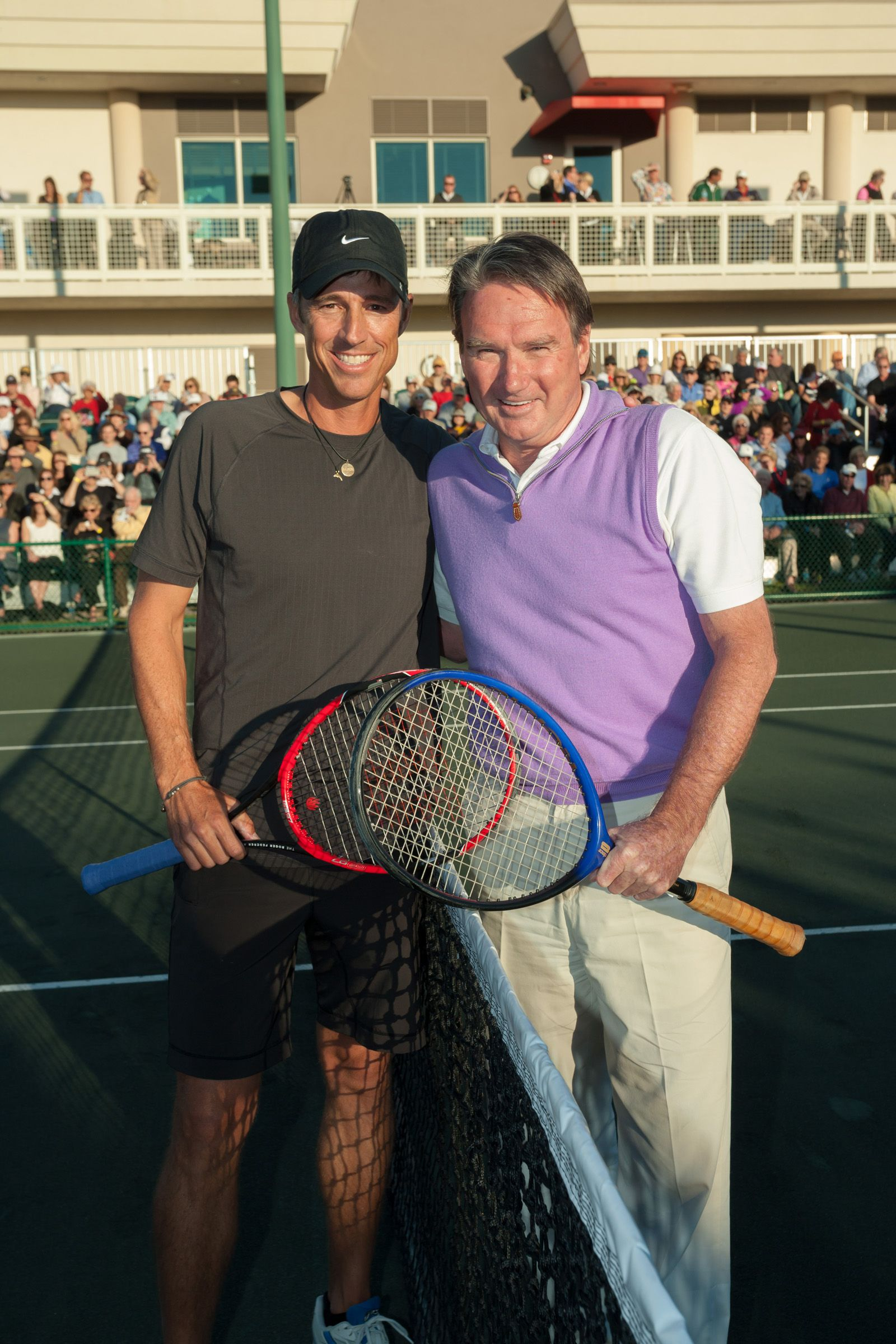 Aaron Krickstein and Jimmy Connors Rematch 24 Years after the 1991