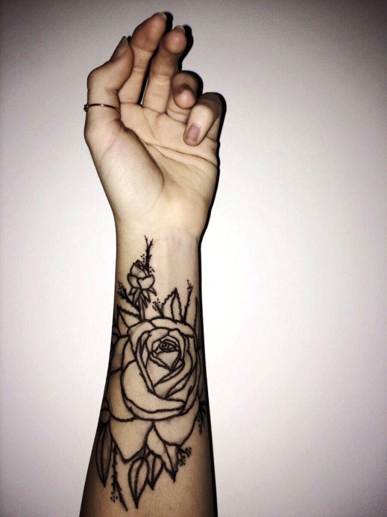 Feminine Forearm Tattoo Designs Www Galleryhip Com The Hippest