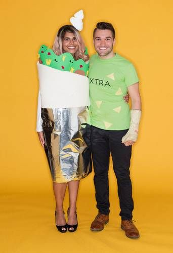 25 Couples Costumes More Clever Than Cringe-Worthy Couple costume - his and her halloween costume ideas