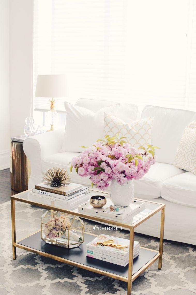 Living Room Table Top Decor Ideas