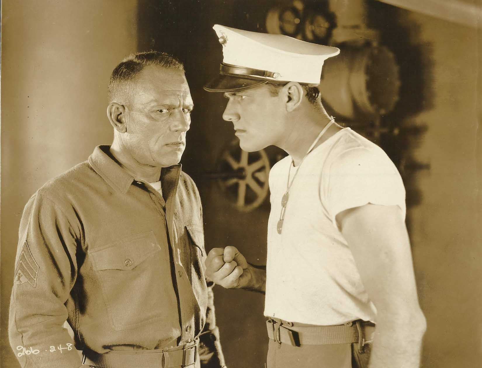 Lon Chaney and William Haines -  Tell it To The Marines 1926
