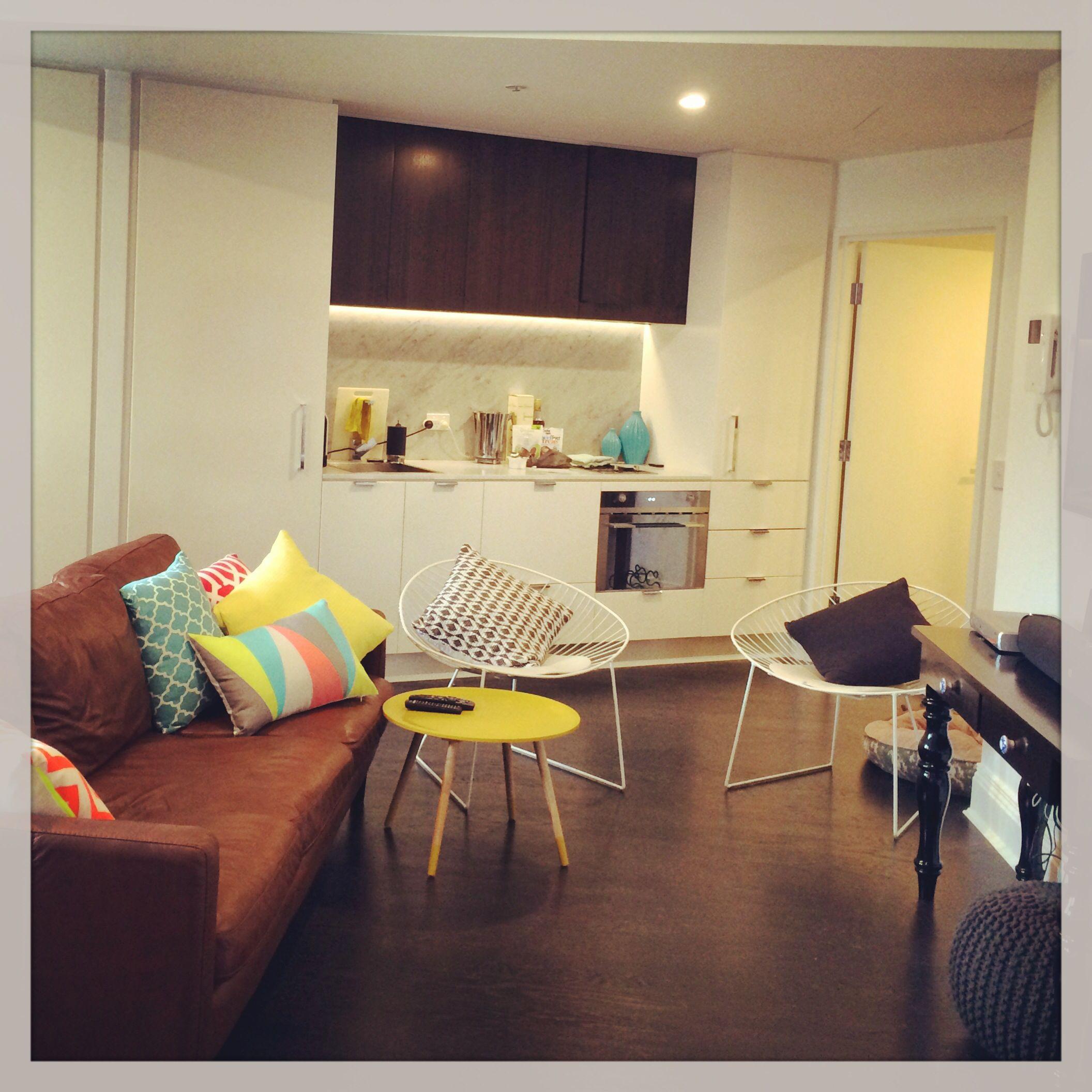 My studio apartment in Potts Point. Interior design die hard!