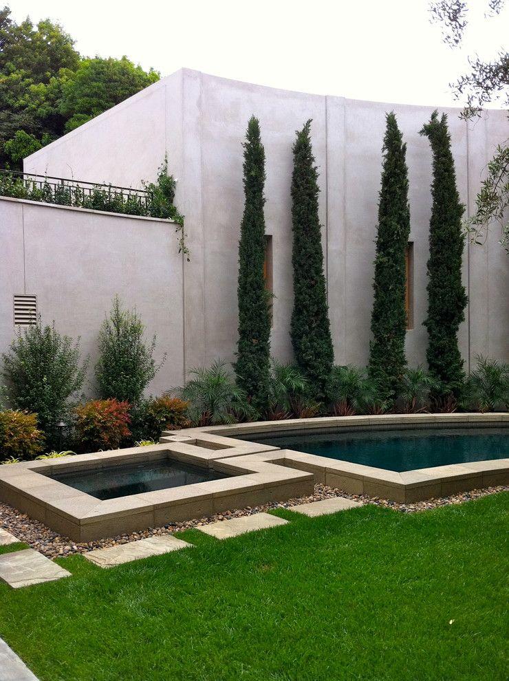 Shocking Modern Landscape Ideas In Pool Contemporary Design Ideas