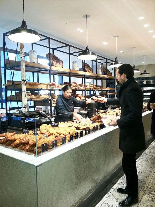 boulangerie la grande epicerie de paris interiors pinterest corner bakeries and cafes. Black Bedroom Furniture Sets. Home Design Ideas