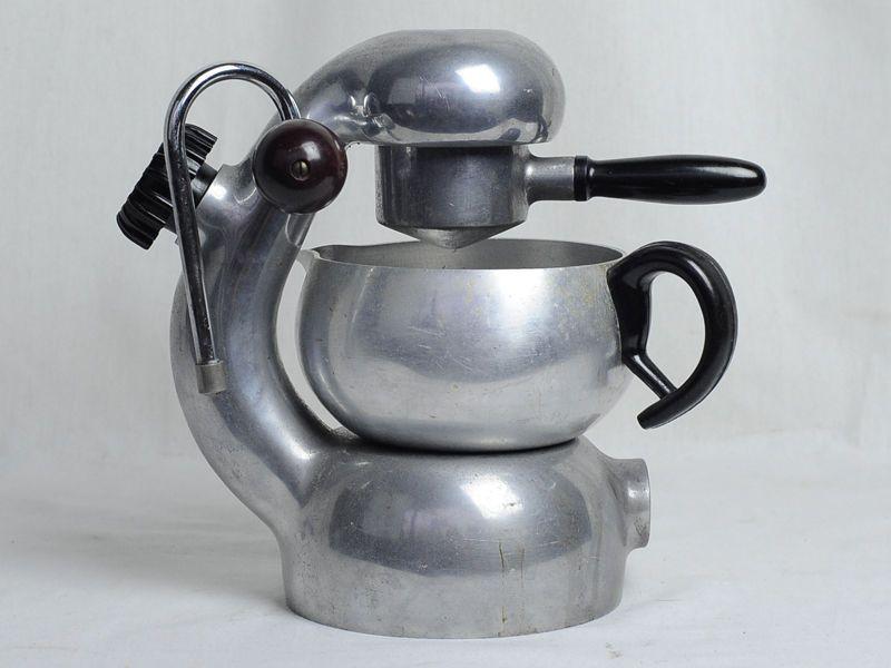 Vintage Atomic Brevetti Robbiati Stovetop Espresso Coffee Machine