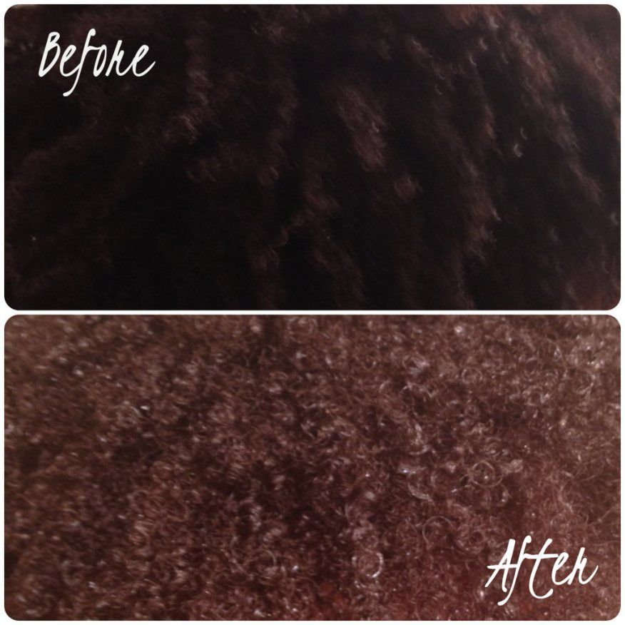 Homemade Natural Organic Hair Dye Black
