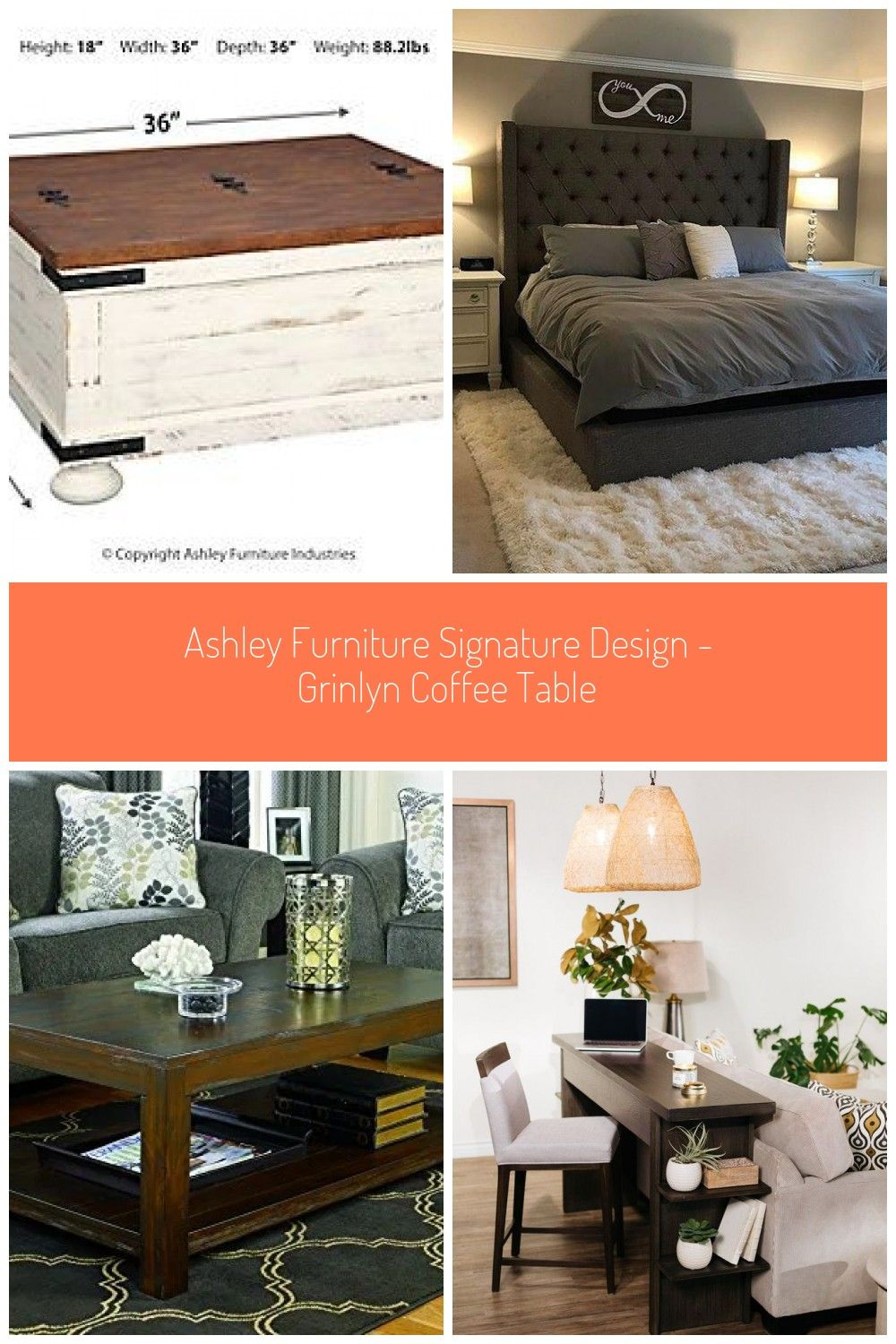 Wystfield Coffee Table Ashley Furniture Homestore Ashley Furniture
