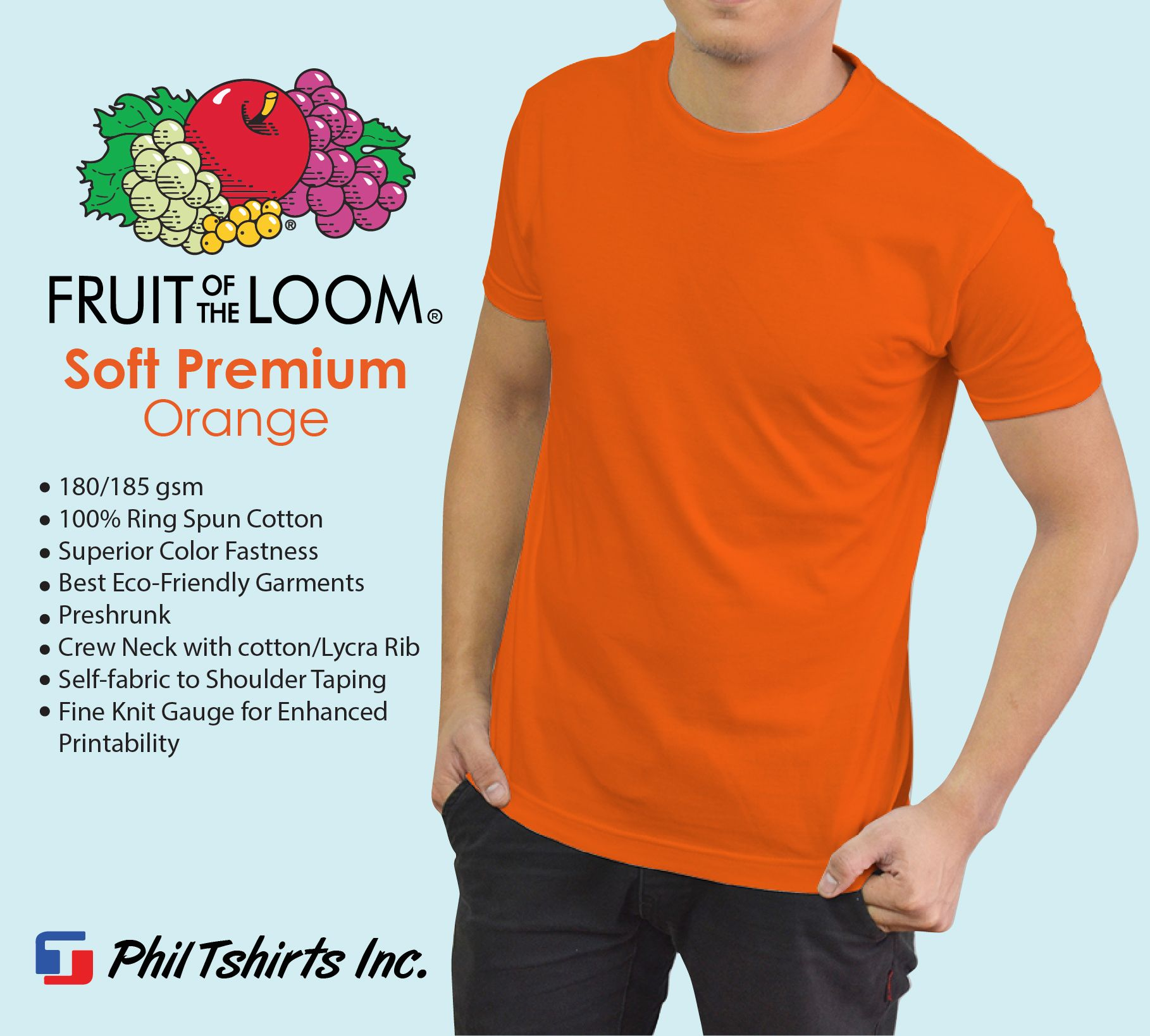 bdff89d8 Phil TShirts Inc. is an authorized distributor of Fruit of the Loom Shirts  that are made in US. Superior quality, fashionable, comfortable, and  definitely ...