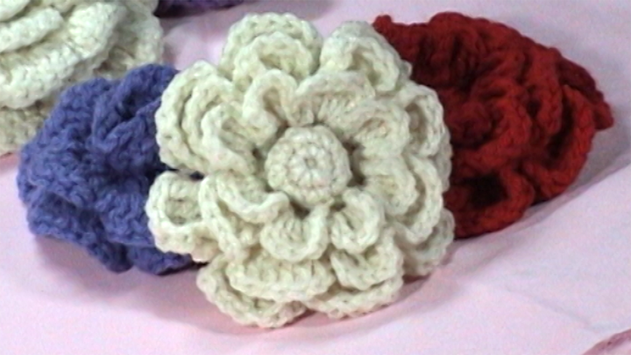 Free Crochet Flower Patterns Roses | Crochet Flowers | Knit ...