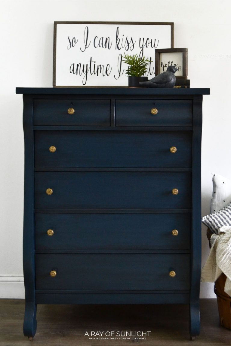 Sold The Empire Dresser Free Shipping With Images Blue