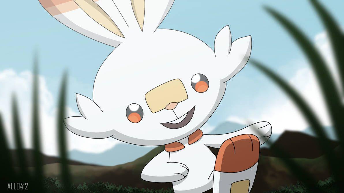 New Fire Starter Scorbunny By All0412 Pokemon Hd Anime Wallpapers Pokemon Teams