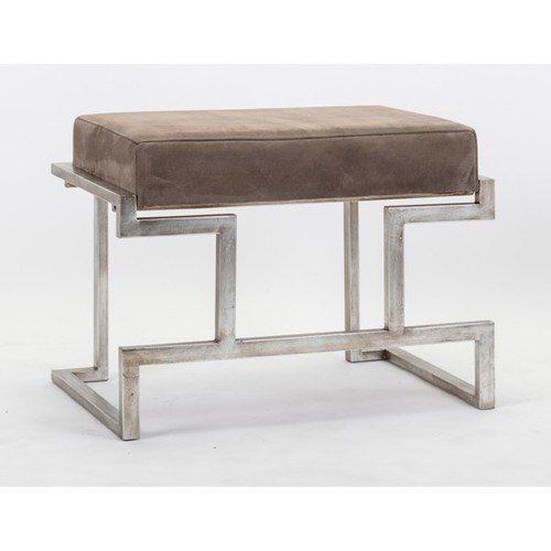 NK Harcourt Suede Bench   Modern home furniture, Decor ...