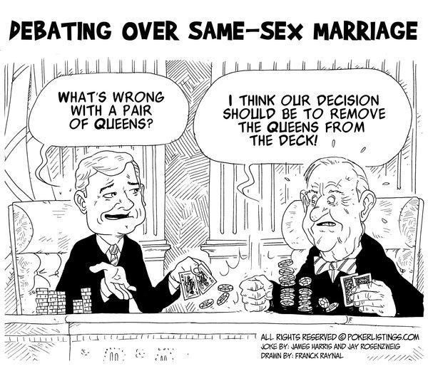 Consider, Why same sex marriage should be allowed