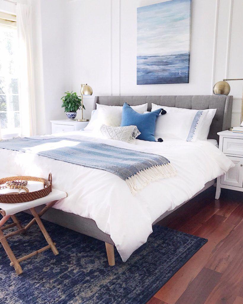 Easy Breezy Summer Decorating Ideas Bedroom Interior