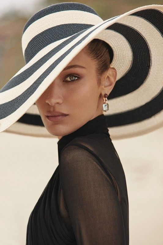 Fashion Editorial| Bella Hadid Elle France June 2019 - Charme and More