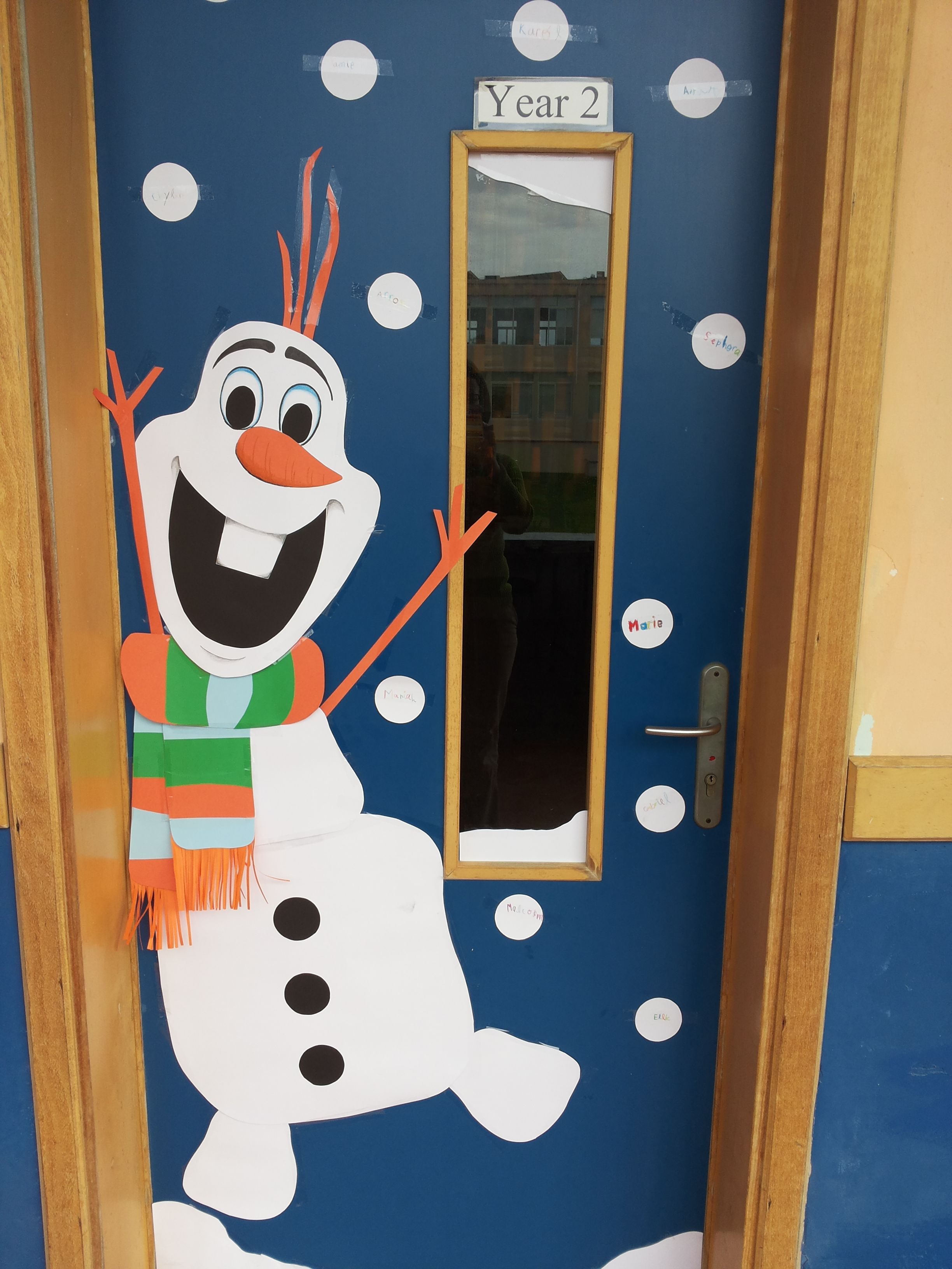 Christmas classroom door decoration ideas - 40 Classroom Christmas Decorations Ideas For 2016