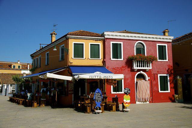Burano Venezia by fabnik, via Flickr