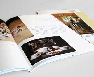 Projekt: Hutschenreuther Hotel. Entwicklung der gesamten Kommunikation (Corporate Website, Anzeigen, Broschüren und Folder) für die neue Marke im Bereich Hotel- und Gastronomie-Porzellan