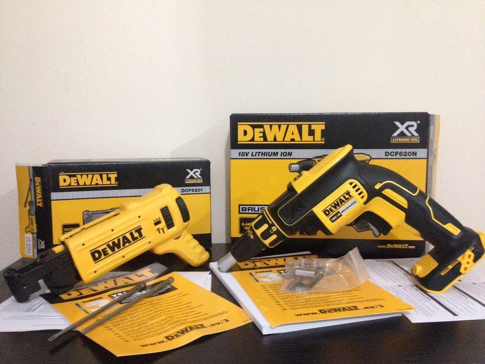 Dewalt DCF620N DCF6201 XR 18v Collated Brushless Drywall Screwdriver Screwgun