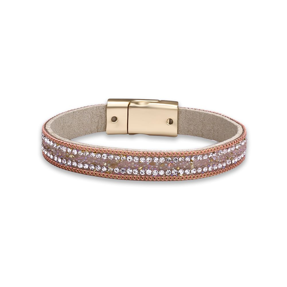 Click to buy ucuc new pulseras fashion crystal wrap bracelet