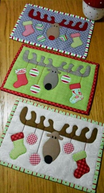 Individuales comedor sewing patterns Pinterest Comedores - manteles decorados