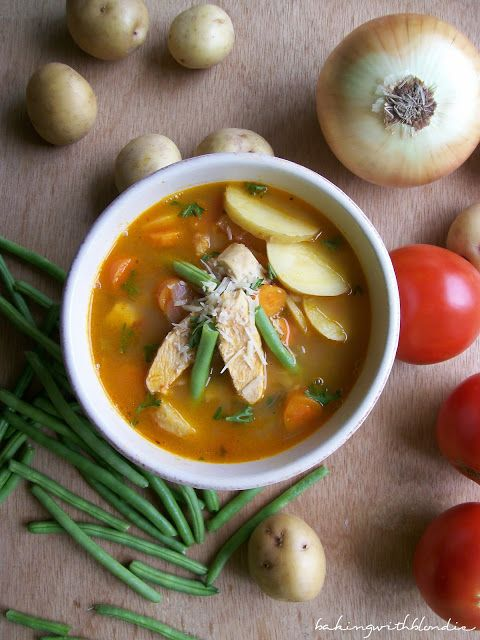 Baking with Blondie : Hearty Chicken Vegetable Soup   Soups ...