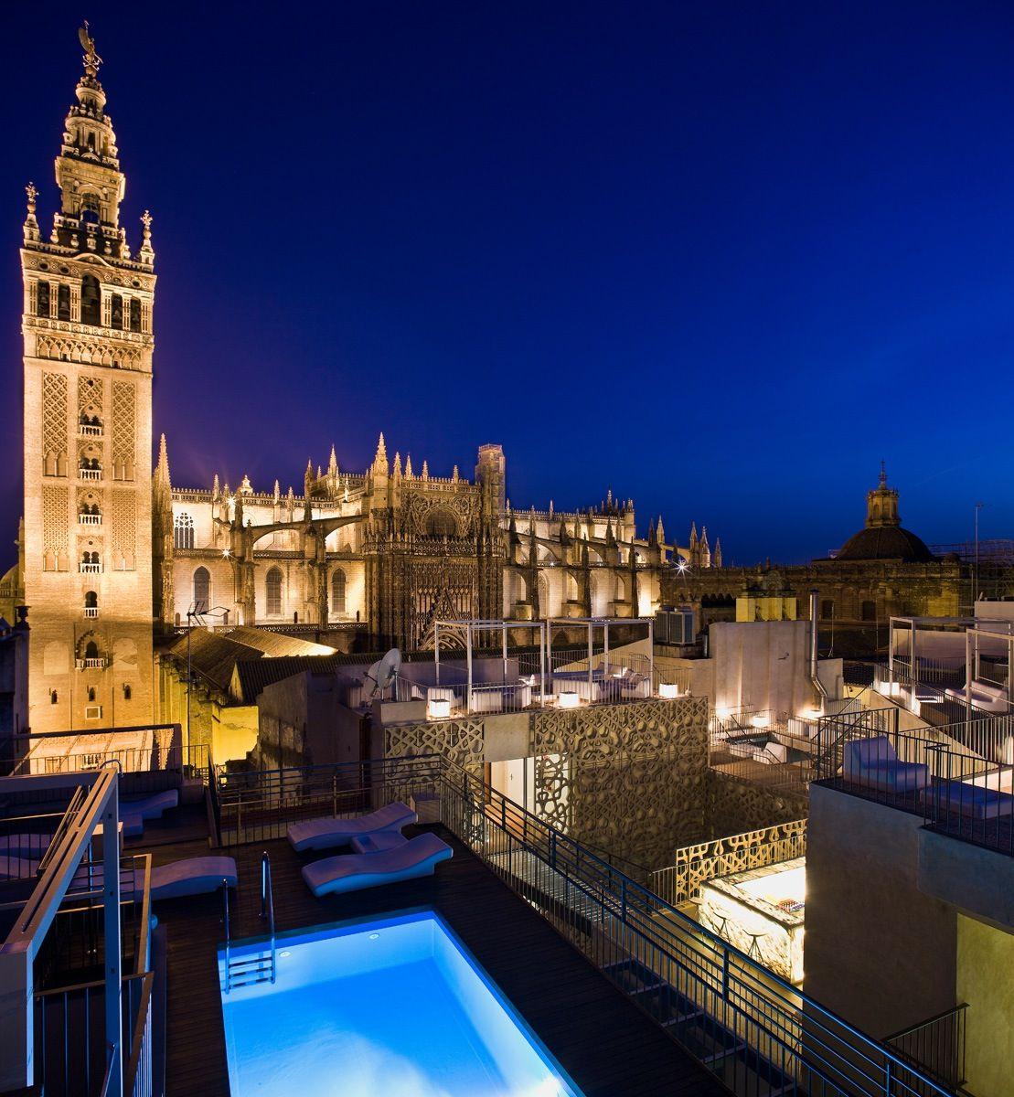 Eme Catedral Hotel Seville Spain Overlooking Seville