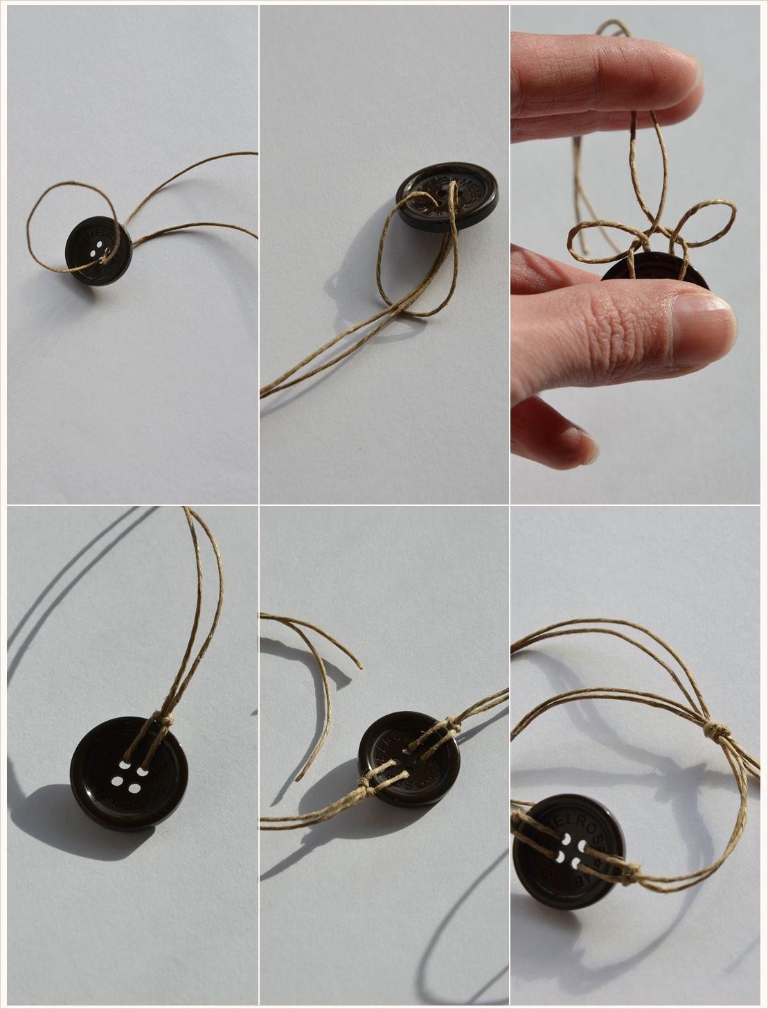 schiebeknoten binden verstellbares armband selber machen mit. Black Bedroom Furniture Sets. Home Design Ideas