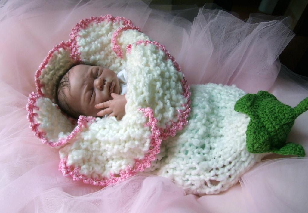 Original design new style newborn baby girl boy unigender bell lily ...