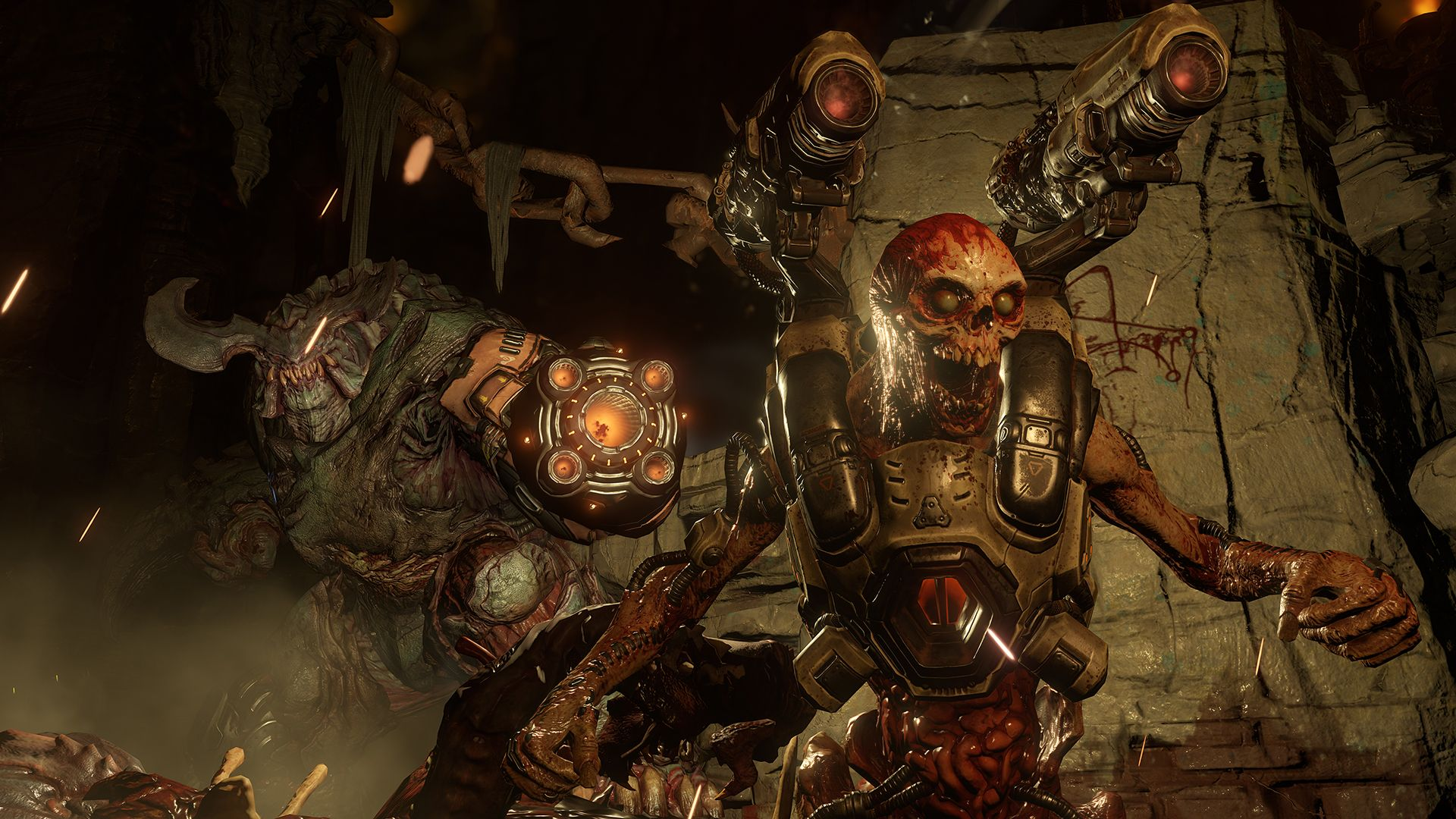 Doom Media Videos Screenshots Concept Art Wallpapers Doom