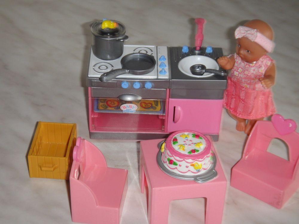 Baby Born Miniworld Püppchen und Küche *Zapf * | Zapf Creation ...